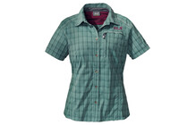 Jack Wolfskin Mountain Stretch Shirt Women eucalyptus checks